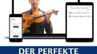Anfänger Kurs Geige lernen Online