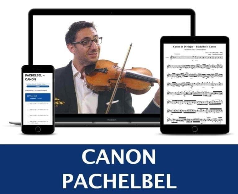 Pachelbel Kanon Geige