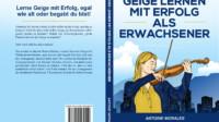 """Buch """"Geige lernen mit Erfolg als Erwachsener"""""""