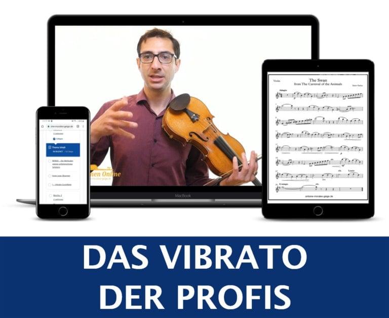 Vibrato Geige lernen