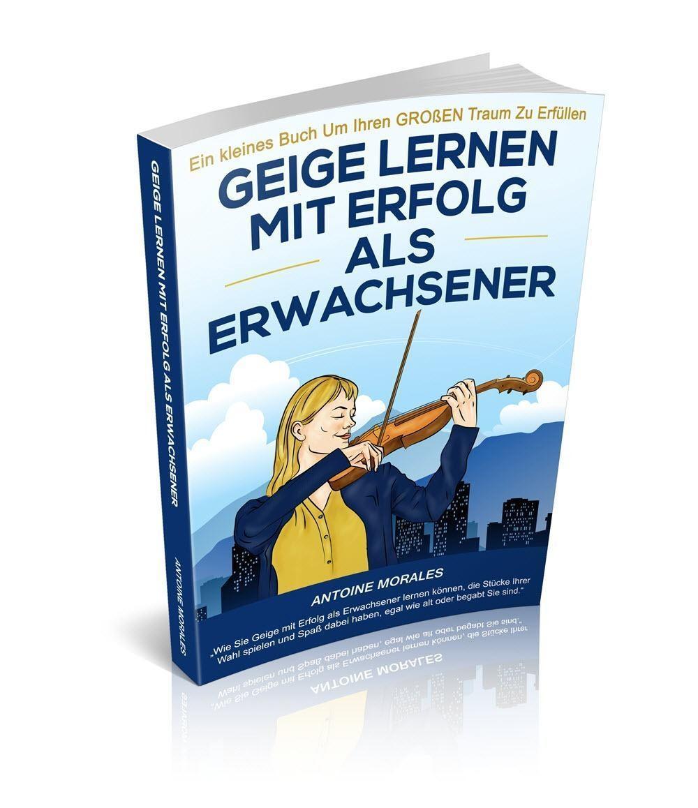 Buch Geige lernen mit Erfolg als Erwachsener - Antoine Morales