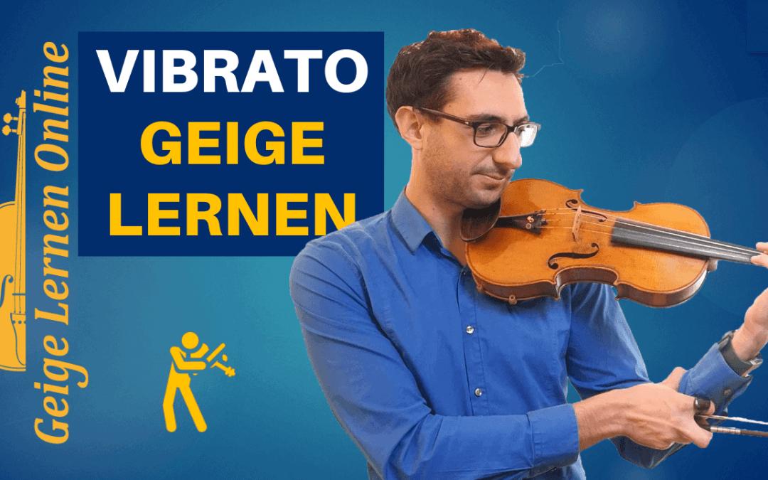 Vibrato lernen Geige: die RICHTIGE Anleitung (2020)