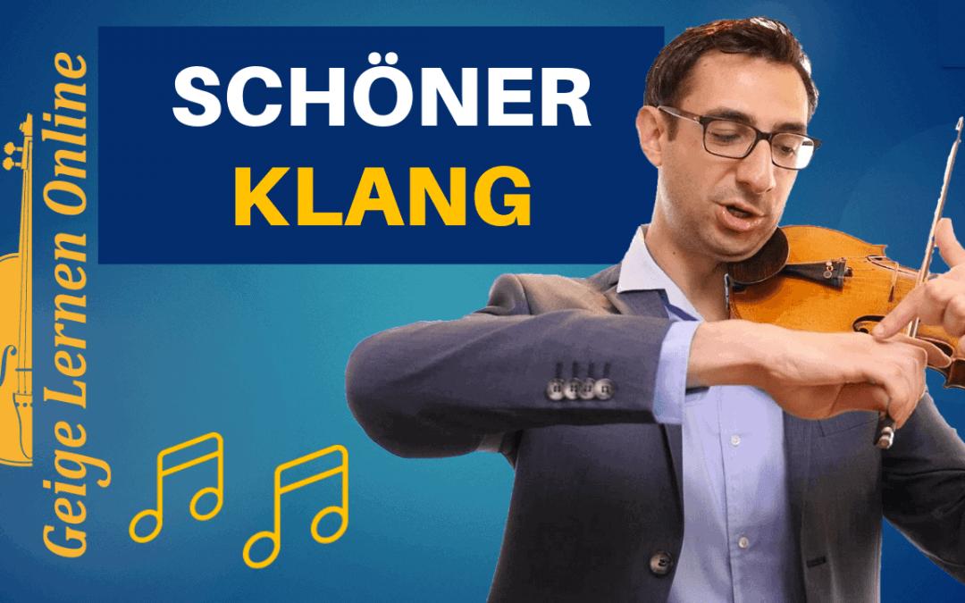 Meine neue Lieblingstechnik (in 2020) für einen schönen Klang an der Geige