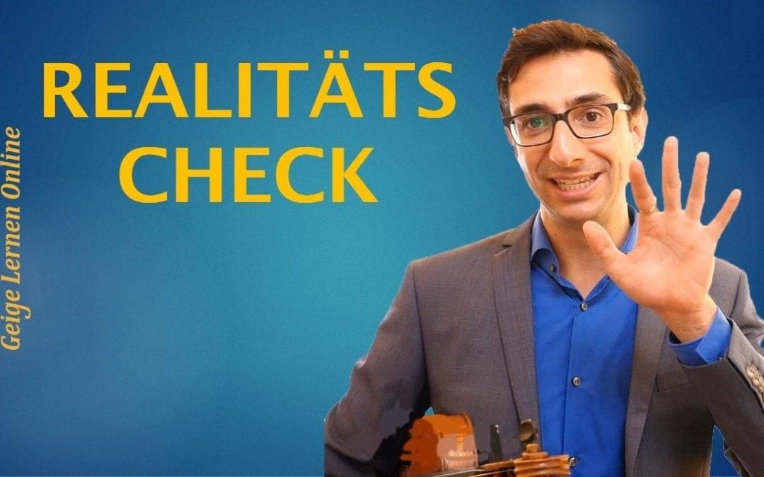 Dieser Schritt ist so wichtig, um Geige erfolgreich zu lernen…