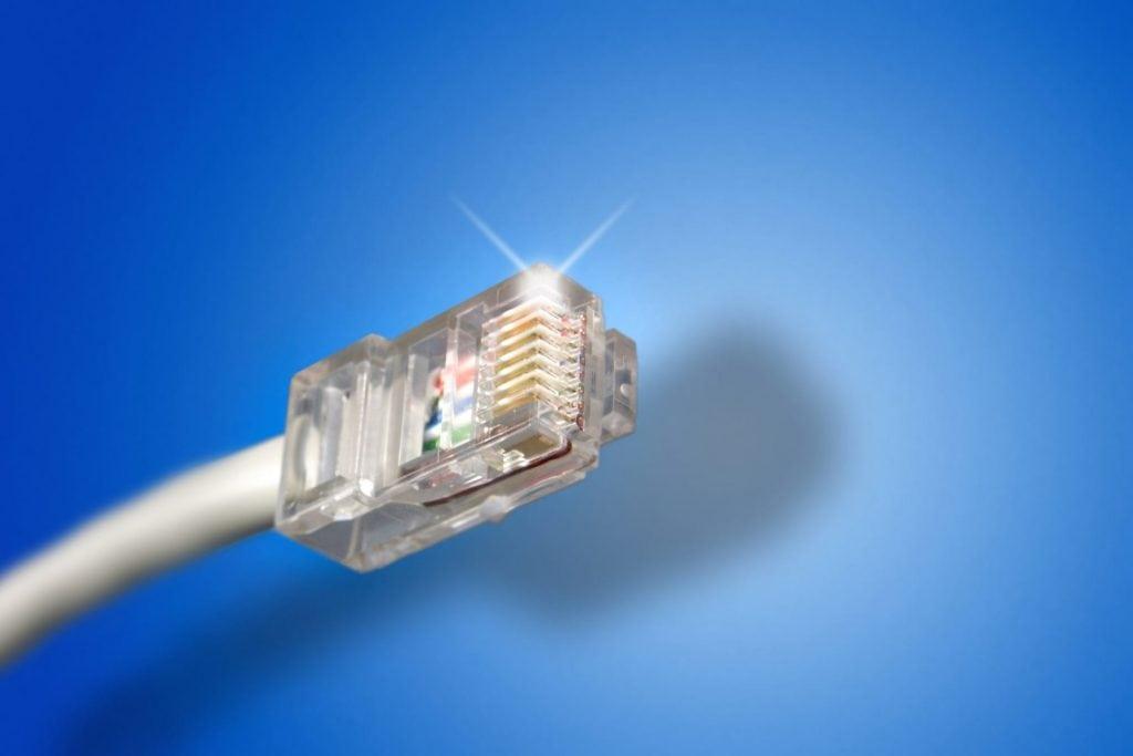 Ethernet Kabel internet