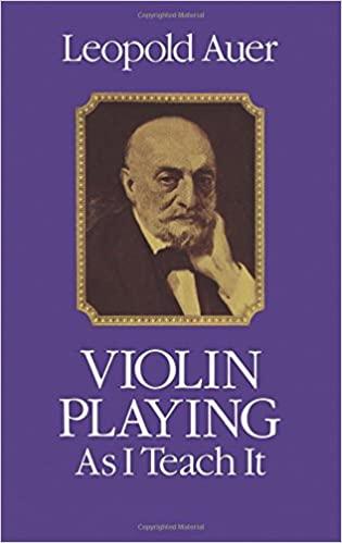 Leopold Auer Buch Geige lernen