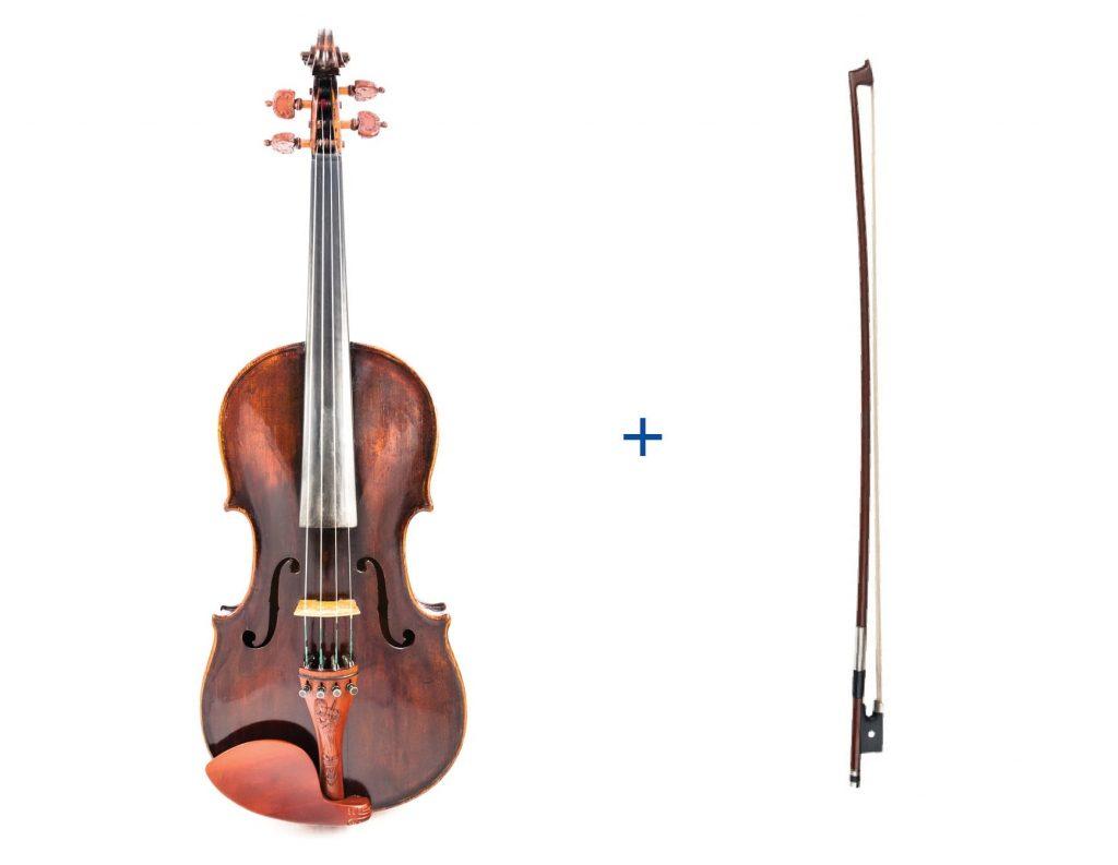 Geige und Bogen Anfänger