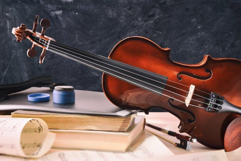 Geige Noten Kolophonium