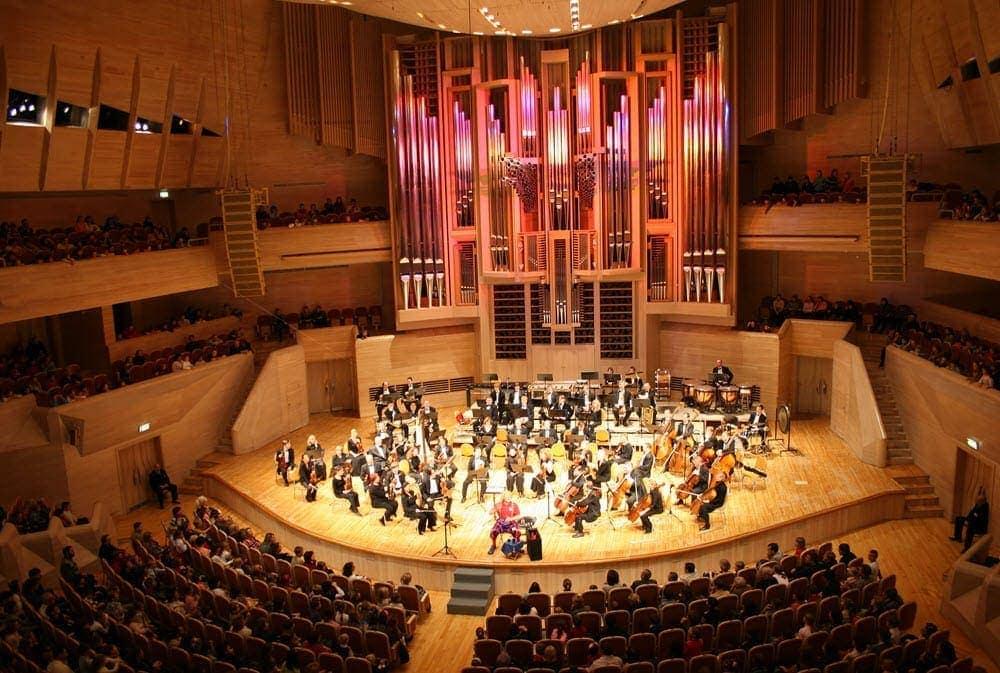 Orchester Geige Violine Bratsche