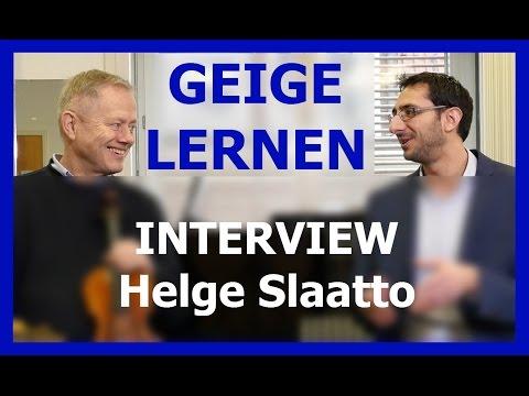 Geige spielen: Interview mit dem berühmten Geigenlehrer Helge Slaatto