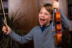 Kinder Geige lernen