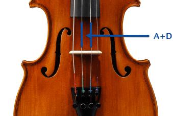 violine stimmen doppelsaite